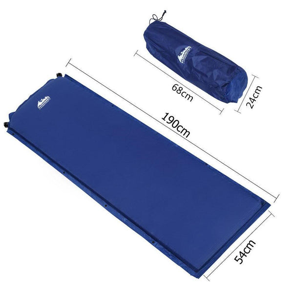 Weisshorn Self Inflating Mattress - Blue DSZ