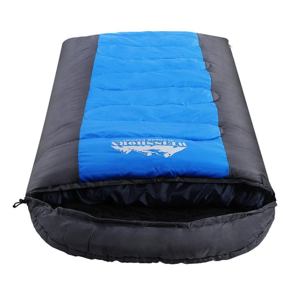 Weisshorn Sleeping Bag Single Camping Hiking -20°C Tent Winter Thermal Simple deals