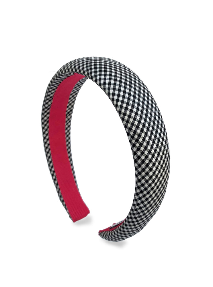 Gingham Padded Alice Band