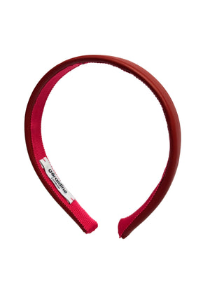 Lucie Mini Brick Leather Headband