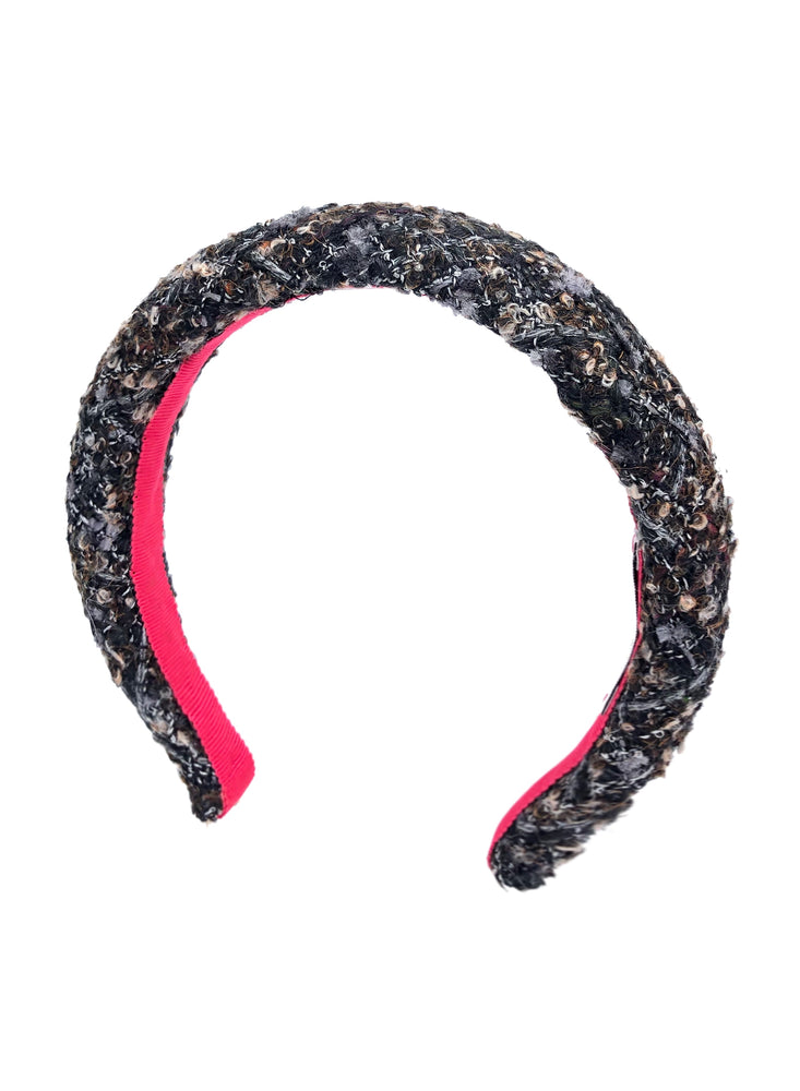 Poppy Padded Headband Brown