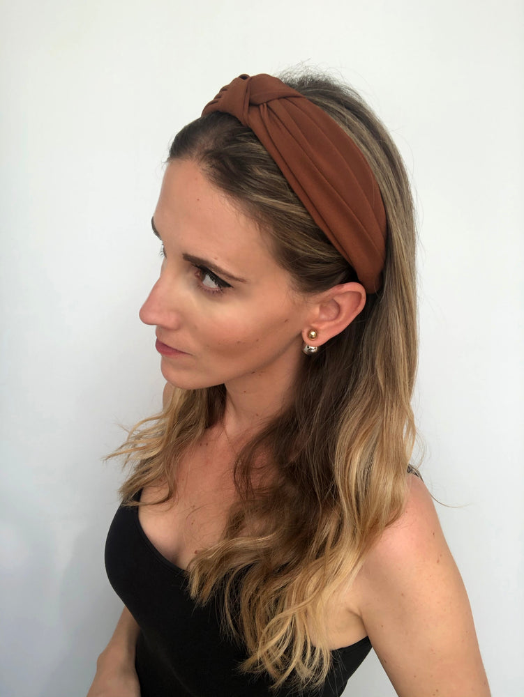 Oak Top Knot Headband