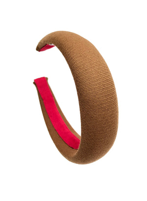 Limited edition Camel Padded Headband