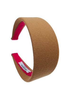 Limited edition Camel Wool Flat Wide Headband