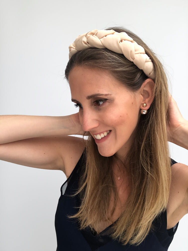 Load image into Gallery viewer, Porcelain Braided Headband