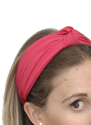 Chelsea Top Knot Headband Strawberry
