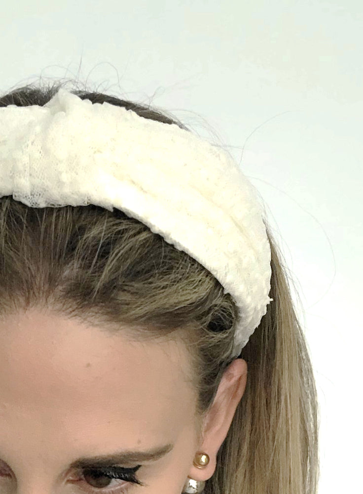 Chelsea Polka Dot Top Knot Headband
