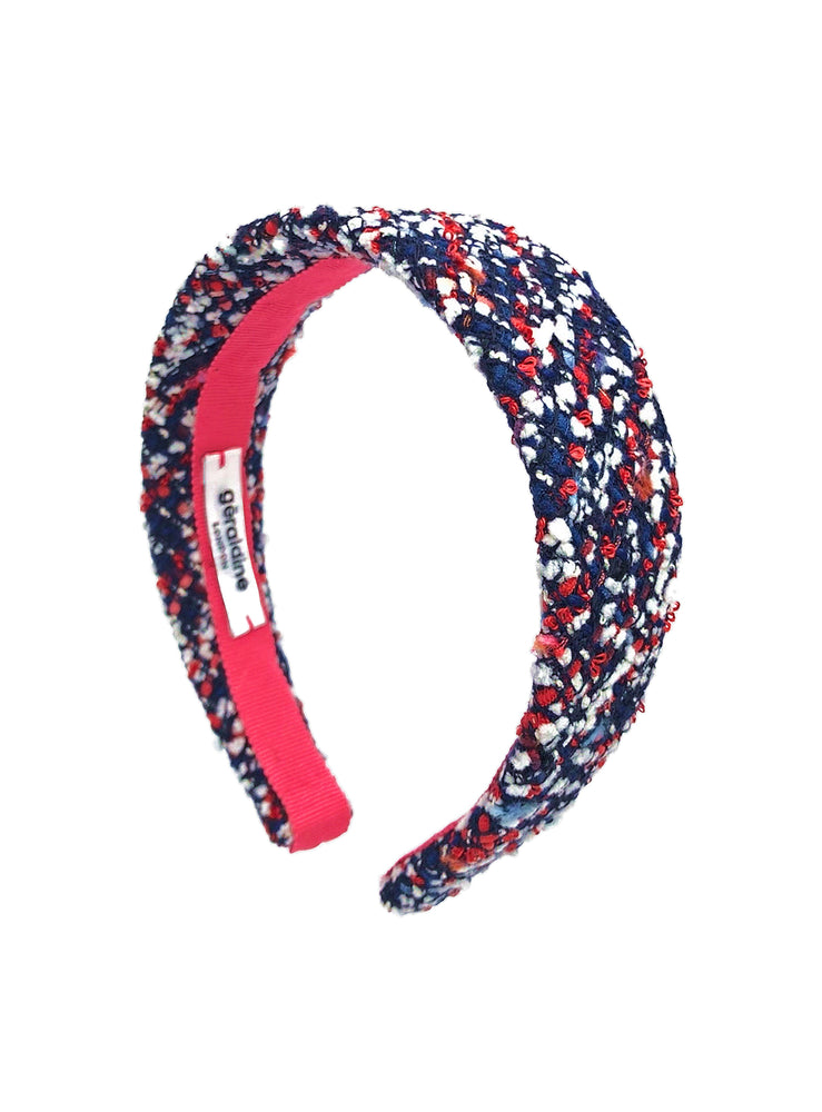 Poppy Flat Headband Union Jack