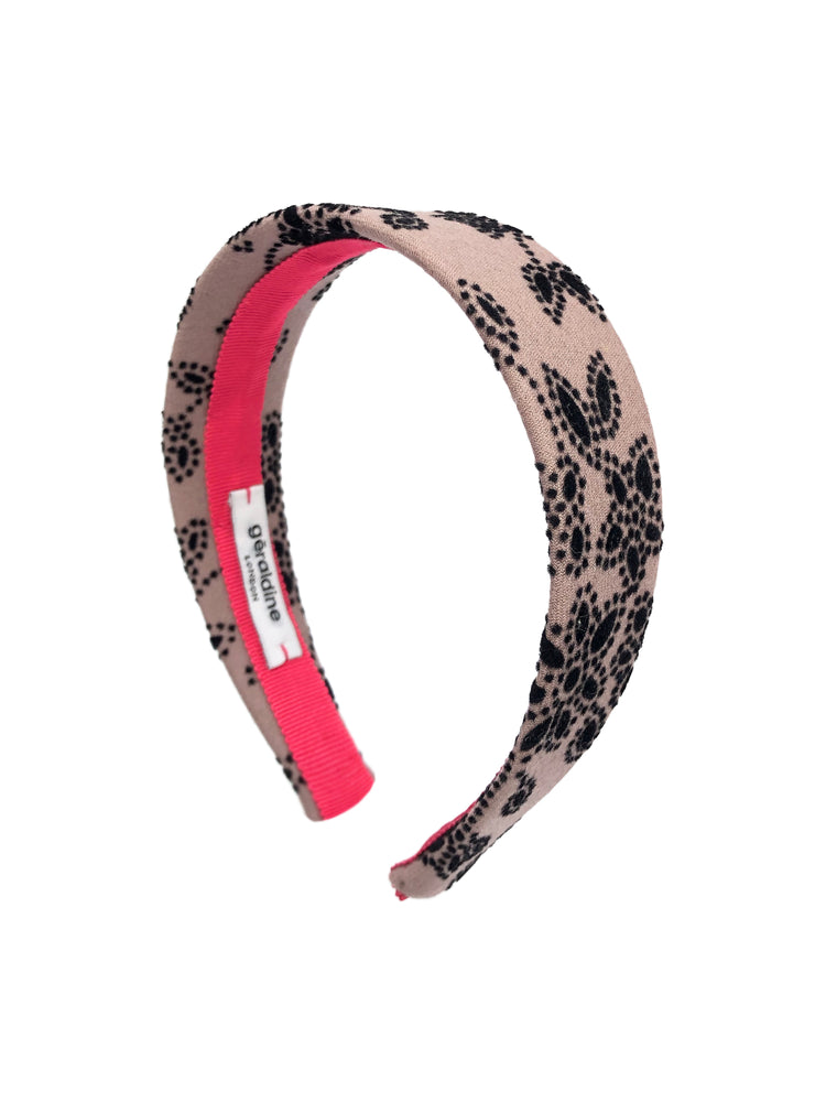 Berkeley Flat Headband Floral
