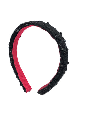 Load image into Gallery viewer, Poppy Mini Headband Black