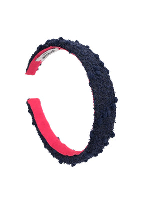 Poppy Mini Headband Navy