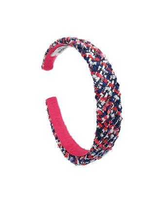 Frenchie Bouclé Mini Headband