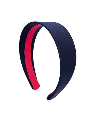 Celeste Navy SuperWide Alice Band