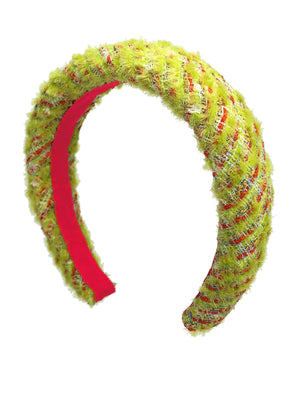 Load image into Gallery viewer, Calypso Padded Headband Lime Green