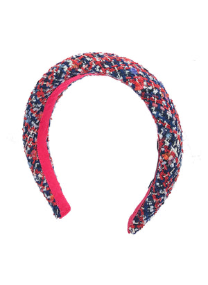 Poppy Padded Headband Union Jack