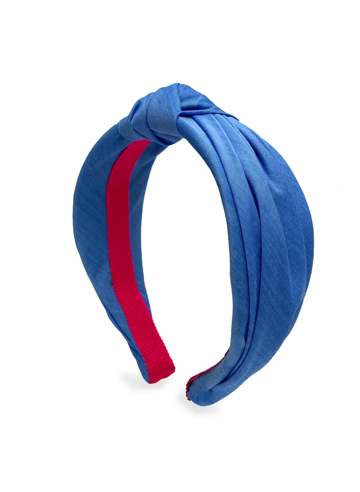 Bleu de France Top Knot Headband - Limited Edition