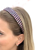 Poppy Mini Headband Portobello