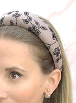 Berkeley Padded Headband Floral