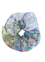 Pastel Printed Oversized Scrunchie