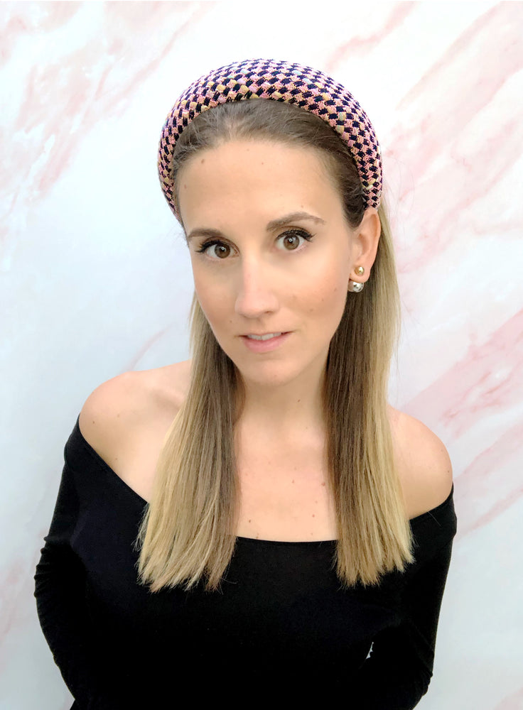 Poppy Padded Headband Portobello