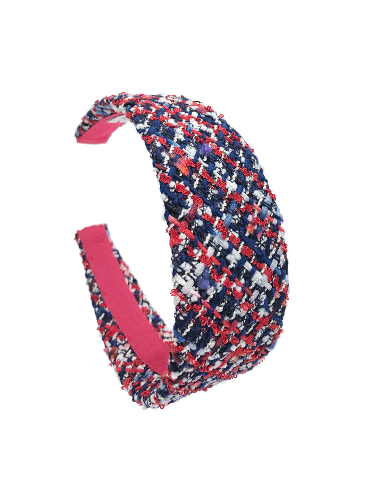 Poppy Flat Wide Headband Union Jack
