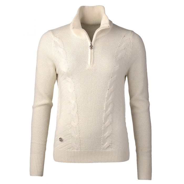 Daily Sports Cattie Long Sleeve Lined Sweater - Ivory