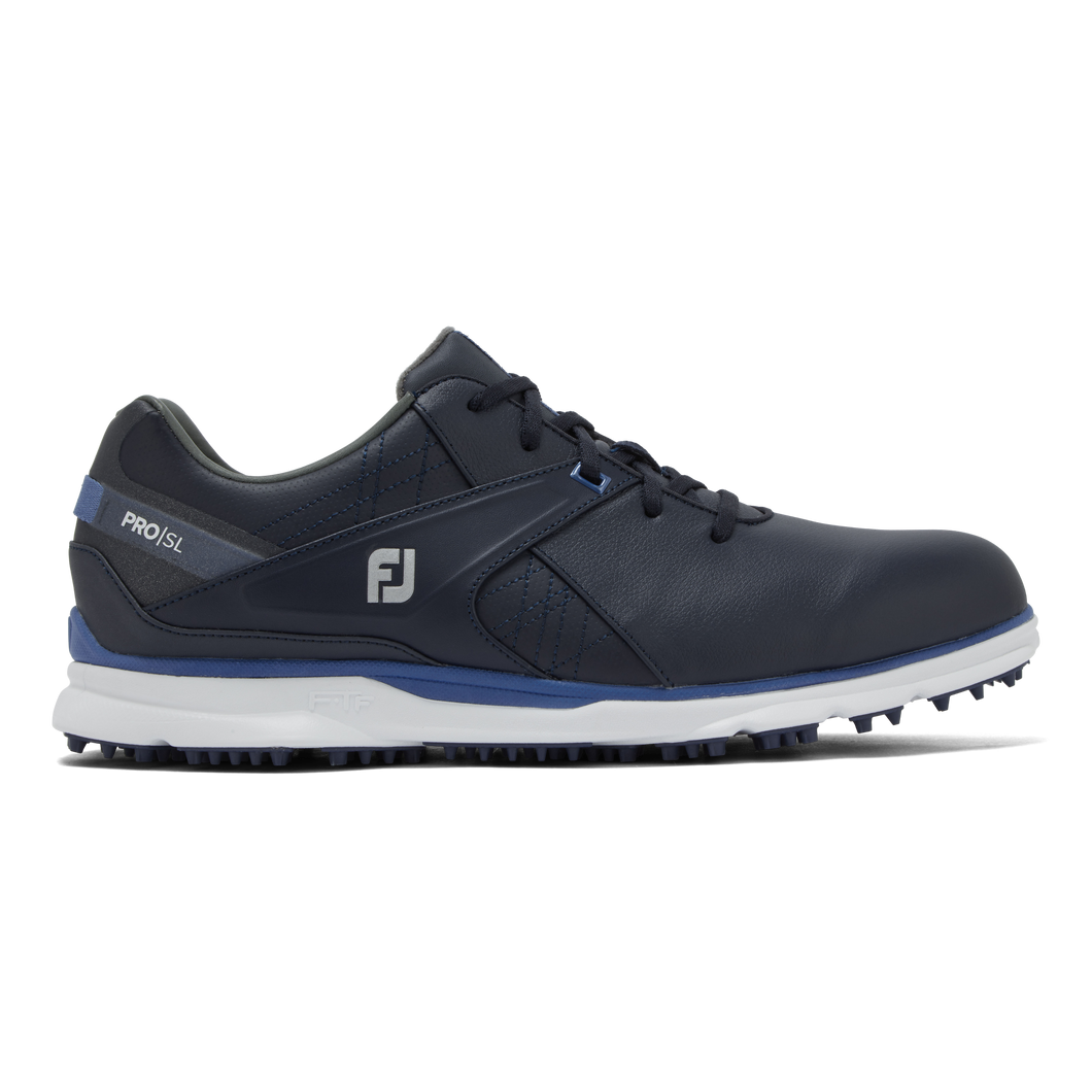 FootJoy Men's Pro SL Golf Shoes (navy/light blue)