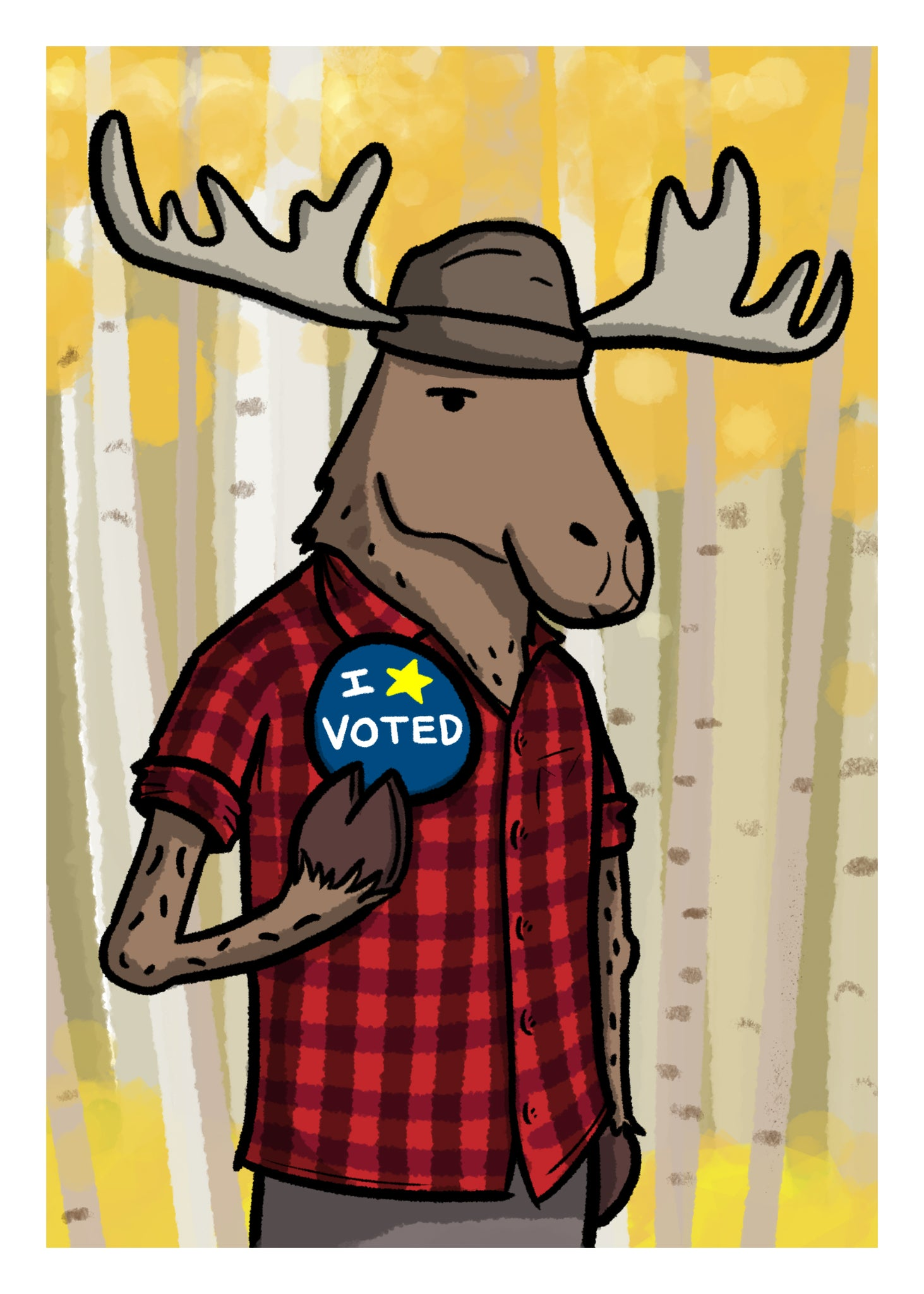 I Voted - Moose