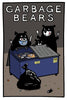 Garbage Bears - Postcard