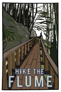 Hike the Flume Postcard