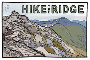Hike the Ridge Postcard