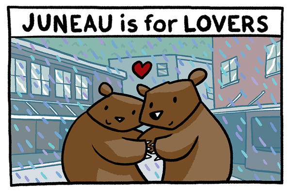 Juneau is for Lovers Postcard