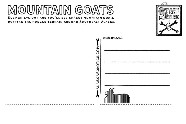 See the Goats - Postcard