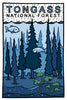 Tongass National Forest - Postcard