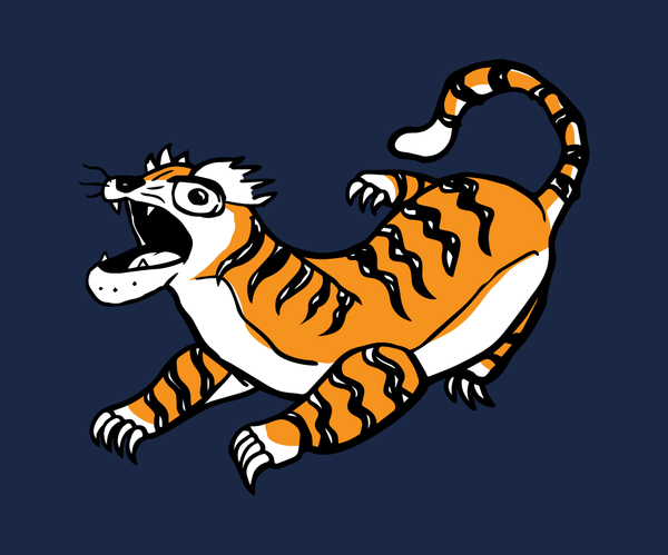 Bad Tiger - Baby Onesie