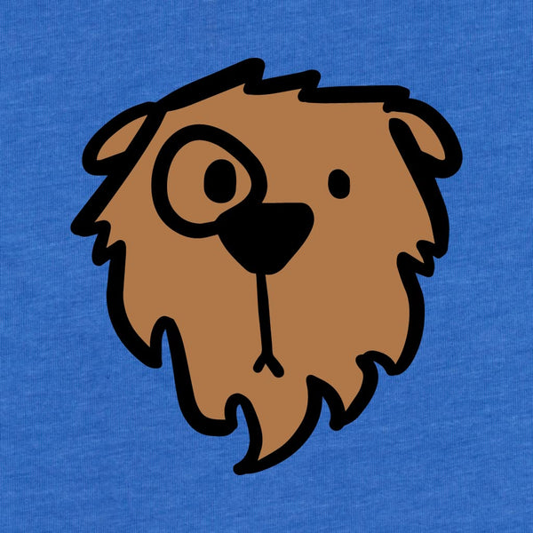 Monocle Bear - Kids T-Shirt