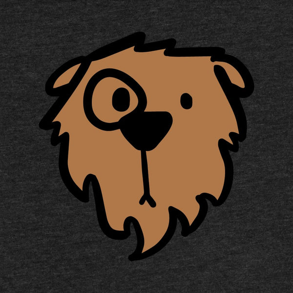 Monocle Bear - Adult T-Shirt