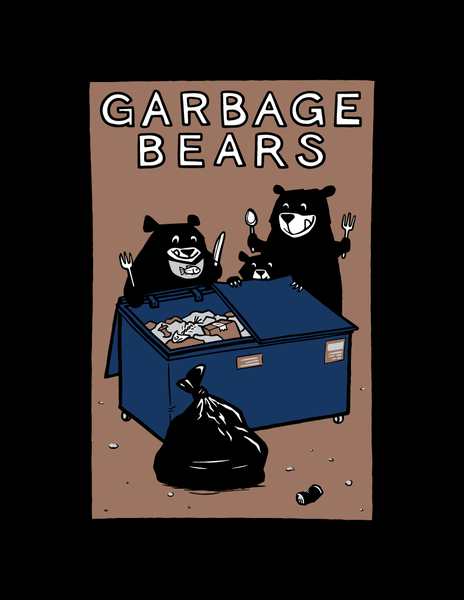 Garbage Bears - Kids T-Shirt