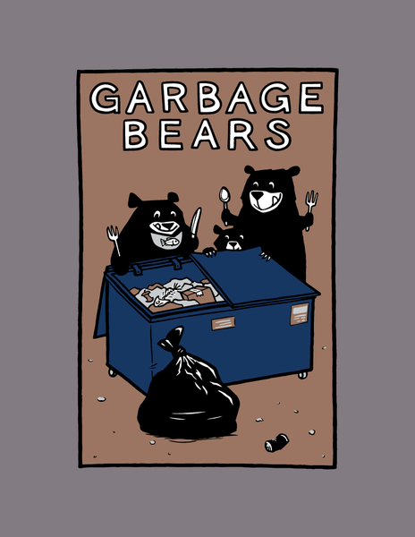 Garbage Bears - Adult T-Shirt