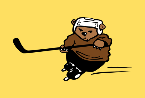 Hockey Bear - Kids T-Shirt