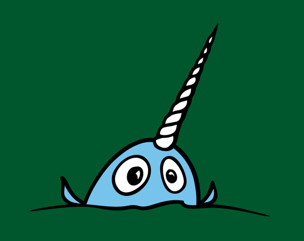 Narwhal #2 - Adult T-Shirt