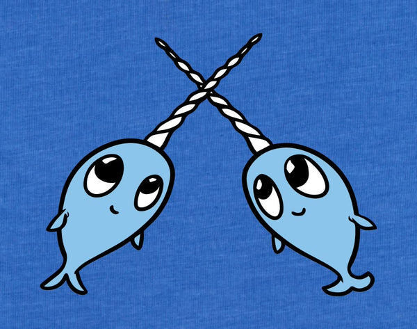 Narwhal Friends - Adult T-Shirt