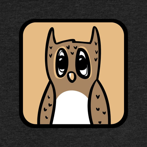 Owl - Adult T-Shirt