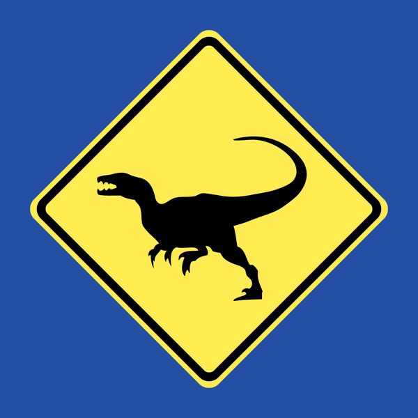 Raptor Xing - Adult T-Shirt
