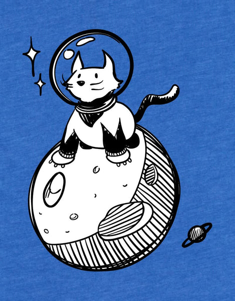 Space Cat - Kids T-Shirt