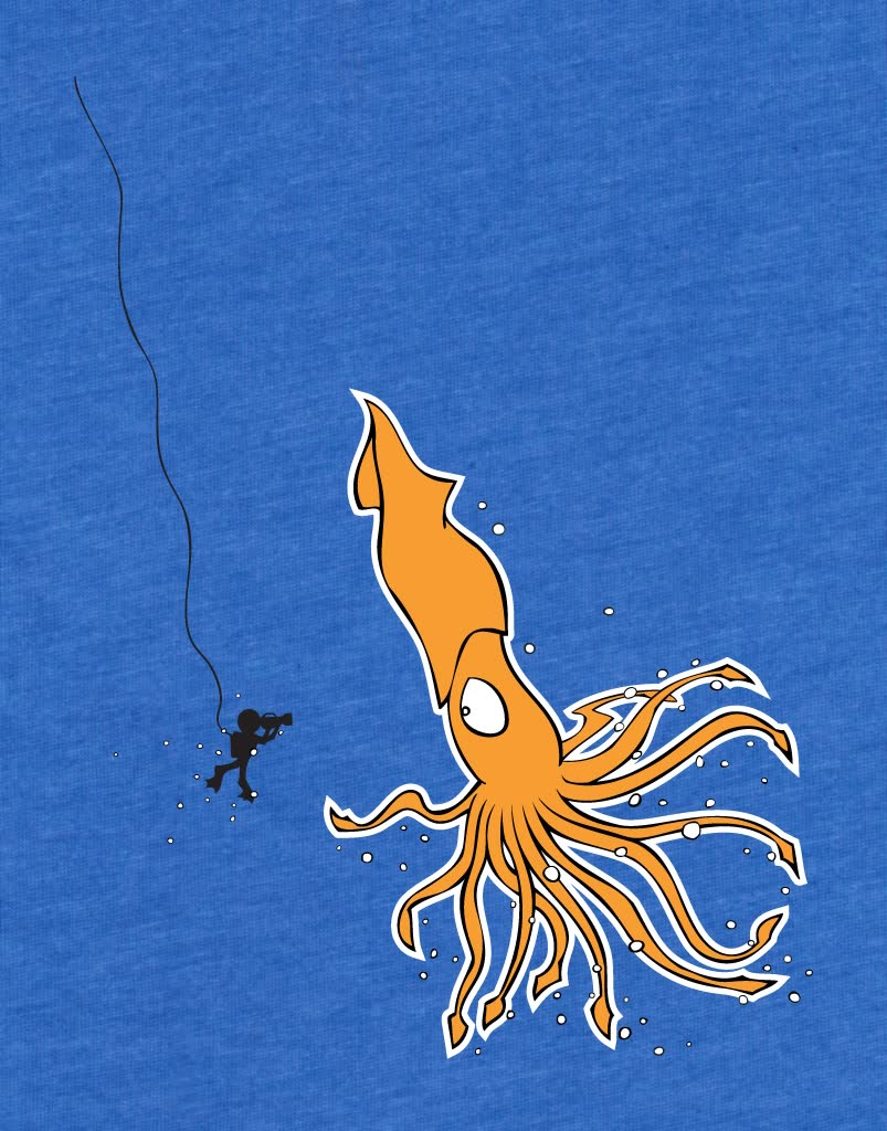 Giant Squid - Adult T-Shirt