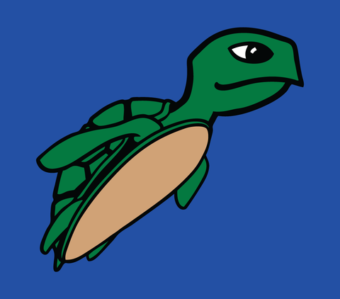 Sea Turtle - Kids T-Shirt