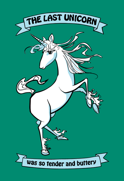 The Last Unicorn Was So Tender and Buttery  - Kids T-Shirt