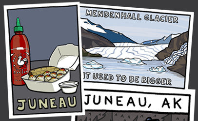 Postcards from Juneau