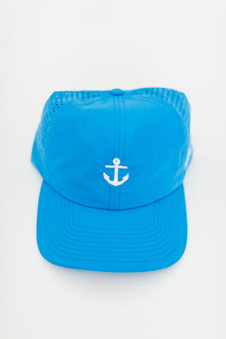 Peace Within Anchor Hat, Lake Blue